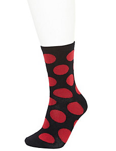 Large dot crew socks 2-pack
