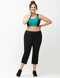 Signature Stretch reversible active capri