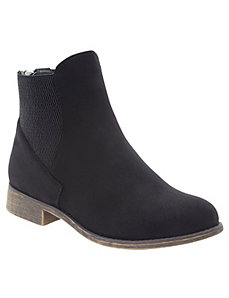 Side gore ankle boot
