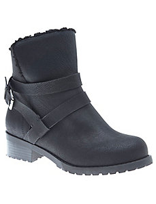 Fleece engineer boot