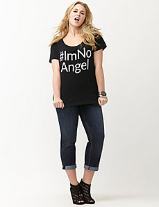 I'm No Angel tee
