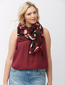 Global glam scarf