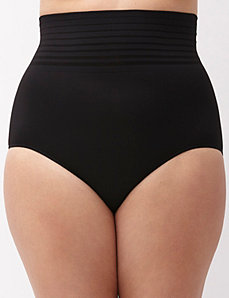High waist seamless brief panty