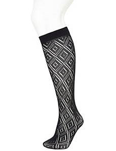 Lacy romance boot sock
