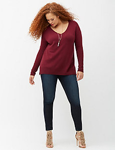 6th & Lane cashmere boyfriend sweater