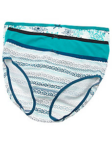 Cotton hipster panty 3-pack