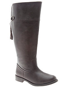 Tassel Back Riding Boot