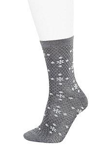 Snowflake crew socks 2-pack