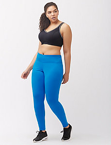 Brush back active legging