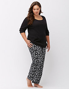 Printed sleep pant