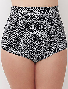 Sun Protection High-Waist Swim Brief