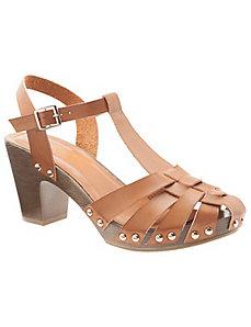 Platform heeled sandal