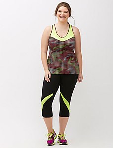 Signature Stretch mesh inset active tank