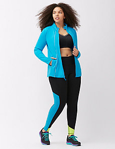 TruDry wicking active jacket with reflective seams