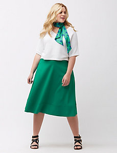 The Modernist circle skirt
