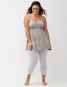 Sleep tunic and legging PJ set