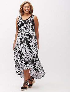 High-Low Maxi Dress
