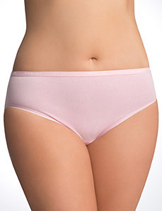 Sassy cotton hipster panty by Cacique