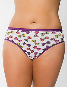 Sassy cotton hipster panty by LANE BRYANT