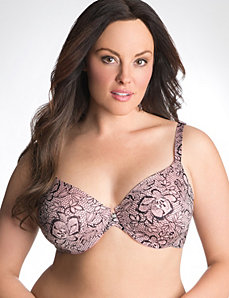 Plus size back smoothing bra in sizes 36C-46DDD