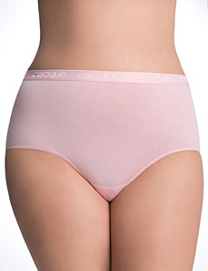 Sassy cotton brief panty by Cacique
