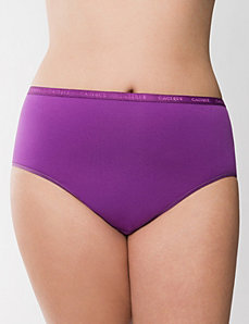 Sassy cotton high-leg panty by Cacique