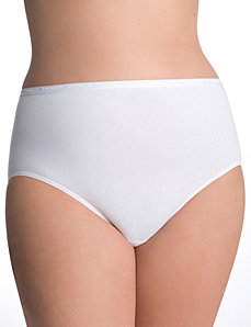 Sassy cotton high leg brief panty