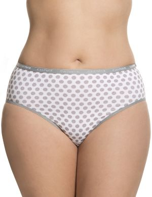 Sassy cotton high-leg panty