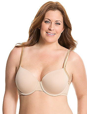 Full figure cotton t shirt bra