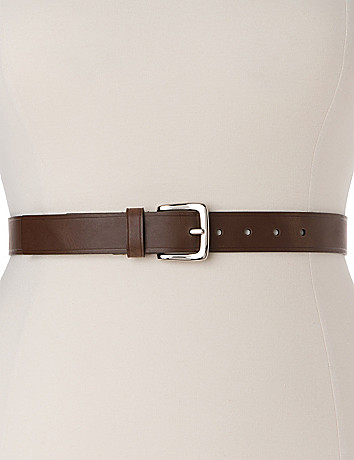 Plus sized classic everyday belt
