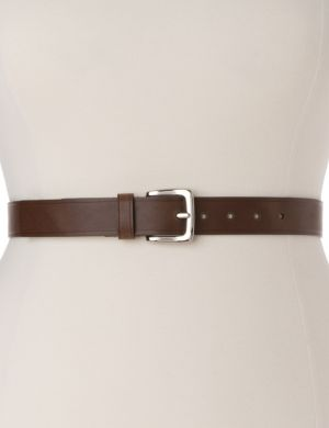 Classic everyday leather belt