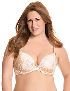 Cotton boost plunge bra by Cacique