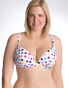 Full figured strapless convertible bra