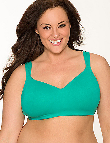 Cotton molded no wire, wire free bra by Cacique