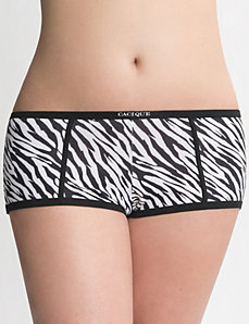 Comfy Cotton boyshort panties in sizes 14 to 28