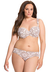 Cushion Comfort balconette bra ensemble