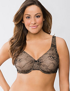 Passion lace full coverage bra