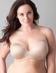 Multi-way strapless bra