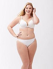 Plus size bikini underwear