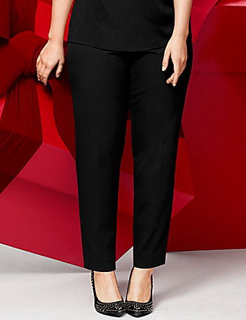 Smart Stretch straight leg pant by Lane Bryant