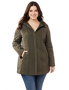 Warming Trends Quilted Coat