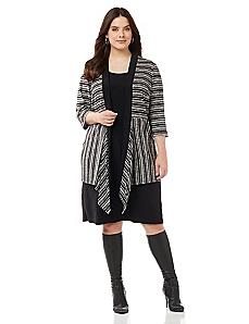 Streetlight Jacket Dress