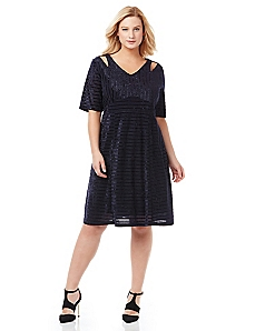 Stylish Stripe Dress