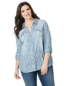 Rodeo Chic Buttondown
