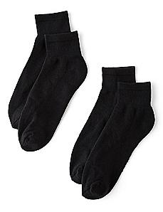 Athletic 2-Pack Ankle Socks