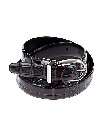 Reversible belt by Lane Bryant
