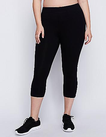 Full figure active capri legging