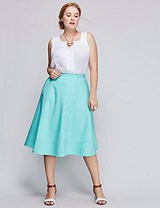 The Modernist circle skirt