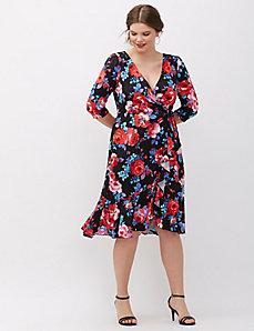 Flounce Dress by Kiyonna