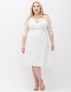 Lavish Lace Dress by Kiyonna
